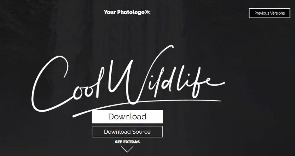 Photologo Download screen shot