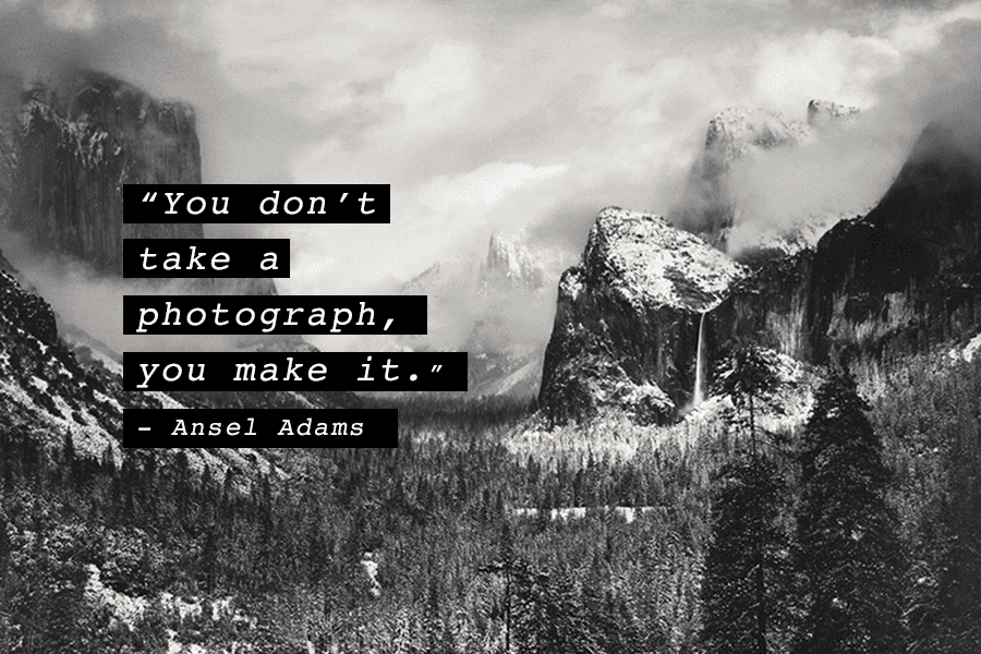 Photography Quote Ansel Adams Make it