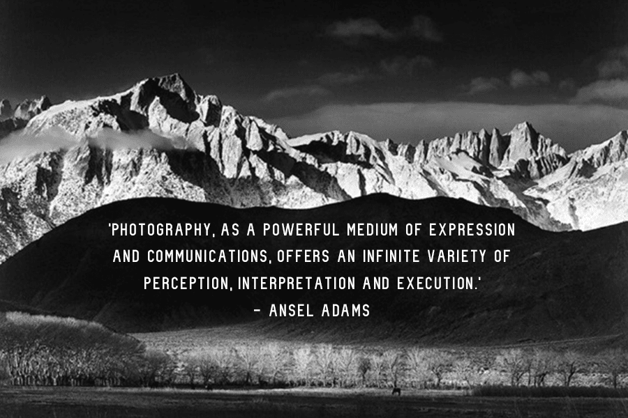 Photography Quote Ansel Adams Powerful Medium