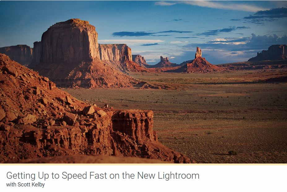 Kelbyone Lightroom Course